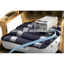 pressure relief alternating wheelchair air cushion with pump