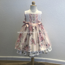 baby fall printed frocks dress