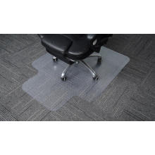 Tapis de chaise de bureau en plastique cloué