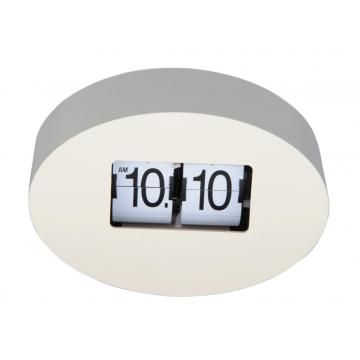 Oval Shape Flip Clock