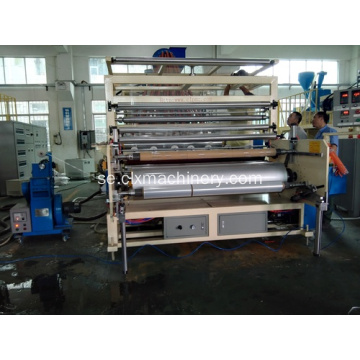 Cast Pe Film Wrapping Machine