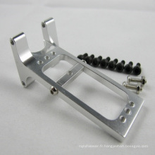 CNC Usinage de pièces en aluminium Service Logo personnalisé