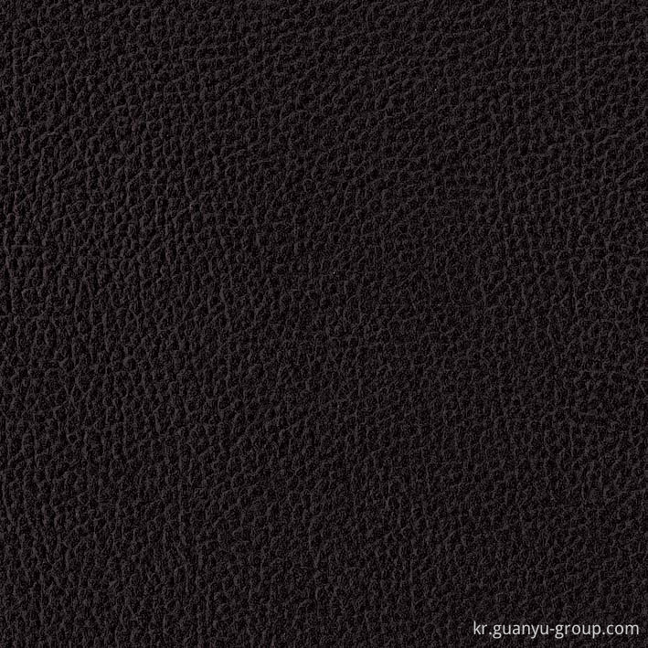 Black Leather Glazed Surface Porcelain Tile