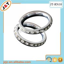 24k luxury diamond curtain rod eyelet ring