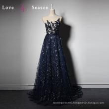 LSQ024 Navy diamonds stone sparkly lingerie vestidos baby girl tutu dress up barbie fashion games