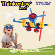 Jouet pédagogique pour les enfants DIY Craft Themed Helicopter