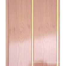 Панель PVC для стены или потолка (LF4) Groove в середине