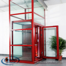Small Larsson Observation Glass Commercial Lift Sightseeing Panoramic Elevator