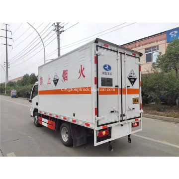4x2 delivery Cargo Van Truck for dangerous goods