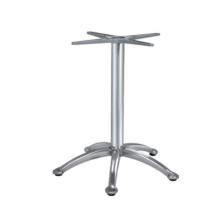 ensemble de meubles d'extérieur pieds de table aluminium