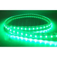 Tira LED verde subacuático 5050SMD 60LEDs IP68 12V DC en blanco cálido 2800k - 3200k