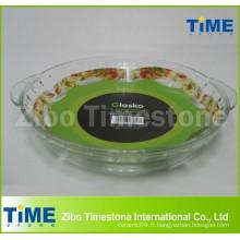 Plaque de cuisson à base de borosilicate à 2,5 litres