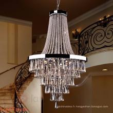 Moderne waterford lustres en cristal pendentif lumière d'éclairage pour l'hôtel 71092