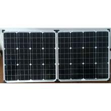 Panel solar plegable con soporte ajustable