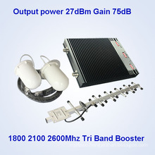 High Gain Cellular Signal Booster/Repeater/Amplifier