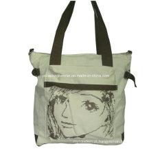 Saco de compras do saco de algodão bolsa de lona