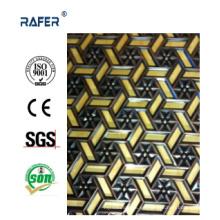 Nuevo diseño y hoja de acero en relieve profundo de alta calidad (RA-C044)
