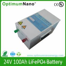 LiFePO4 24V 100ah Battery for Solar Storage