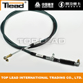 Sinotruk HOWO repuestos Gear Shift Cable WG9725240008