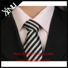 Corbata tejida poliéster de China de encargo del nudo perfecto
