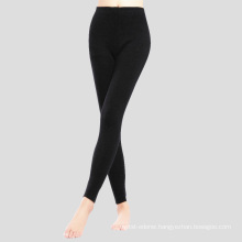 PK18ST086 100% cashmere yoga pants legging for woman sweat pants