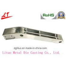 Fundição em liga de alumínio com máquina de alta pressão Braço de pescoço