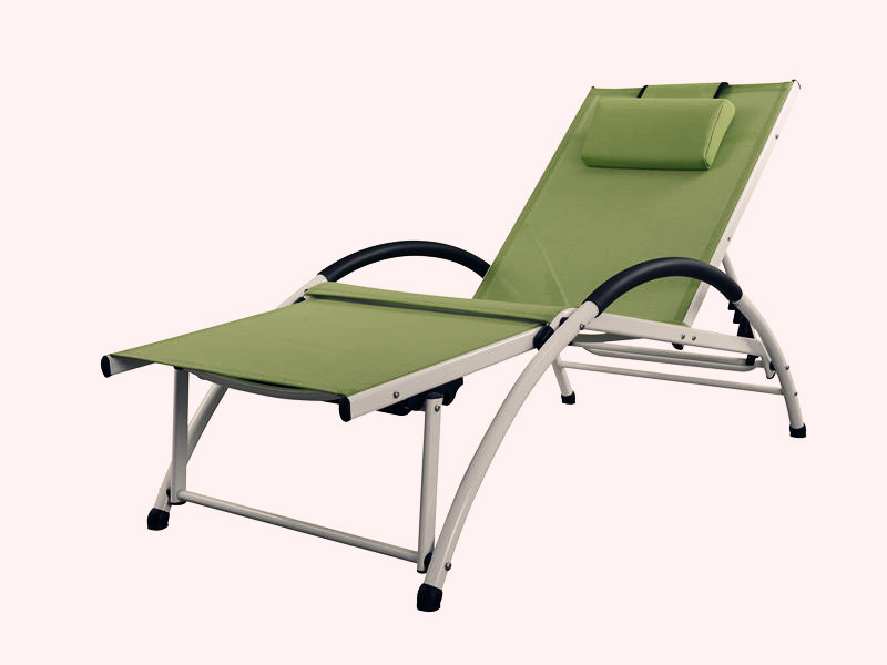 alu textilene lounge bed