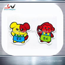 Promotional decoration 3d pvc fridge magnet