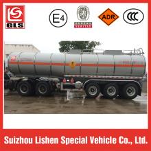 Remorque de transport de nitrate d'ammonium liquide
