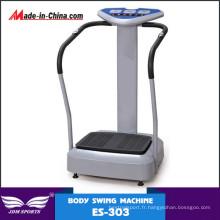 Machine de plat de vibration plus mince de corps fou de vente chaude de corps de vente