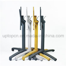 Wholesale Aluminum Alloy Folded Table Base with Various Color for Restaurant Table Top (SP-ATL247)