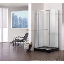 Porte de douche en verre à charnières Jb-S090
