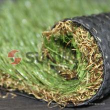 высокая плотность зеленый открытый теннисный корт травы