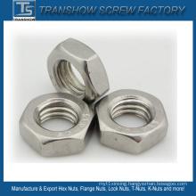 M10 Stainless Steel Left Thread Hex Nut