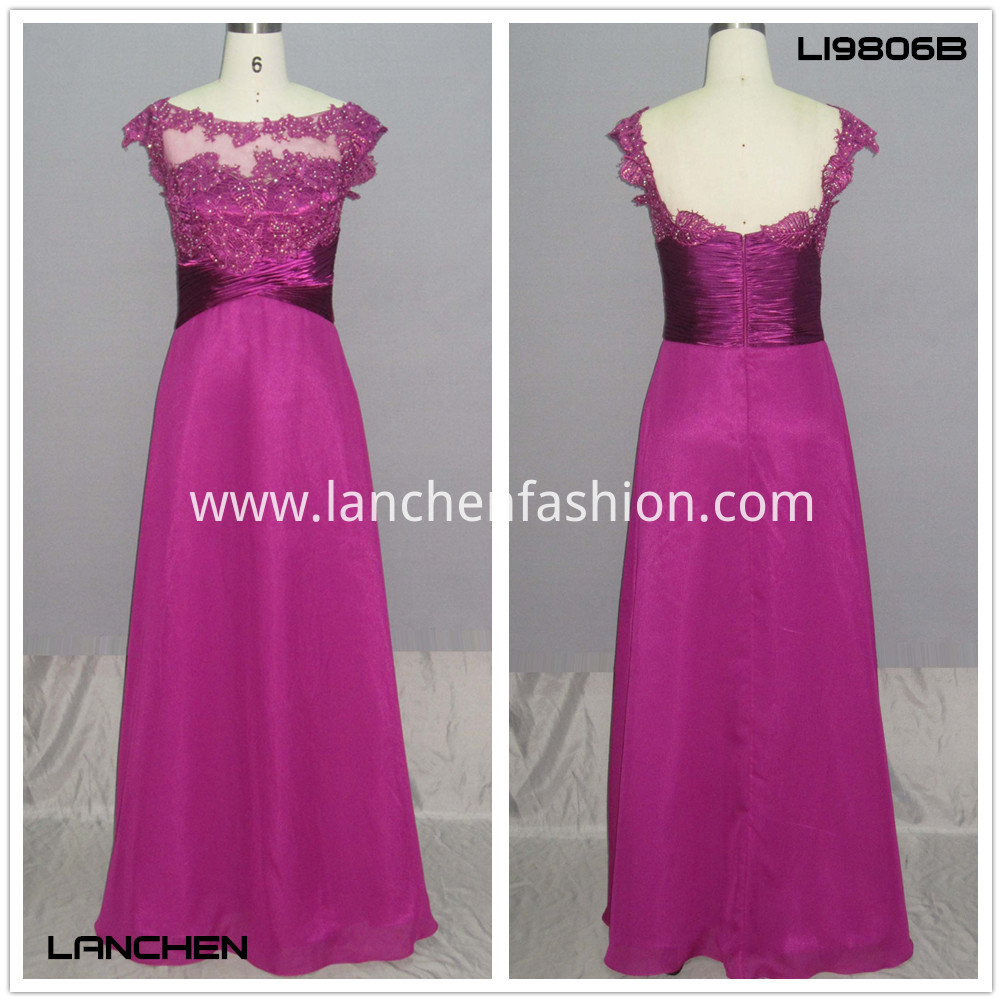 Women's Lace Dress Red
