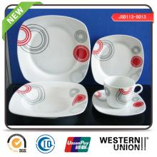 Vaisselle en porcelaine de la vente directe en usine