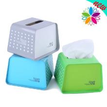 Boîte à tissus en plastique créatif de style européen (ZJH029)