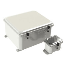 Gabinetes eléctricos con bisagras NEMA Gabinete eléctrico de montaje en pared Gabinete eléctrico impermeable con bridas Polycase ZQ Serie ZH