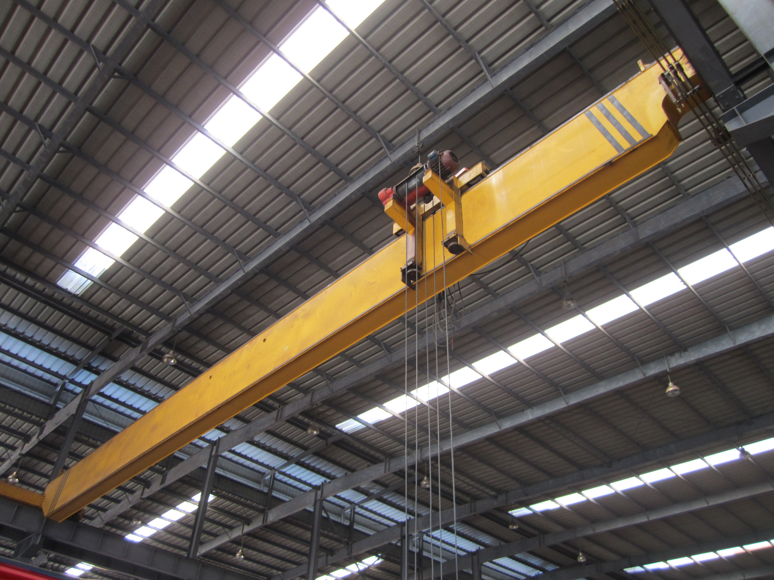 10T Single Girder Travel Overhead Crane