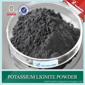 70%Min Powder Potassium Lignite for Oil Drilling Mud Additive