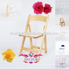 solid wood folding reclining beach chair