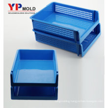 Custom Best selling plastic double desktop file organizer for office use plastic injection mould/ tooling