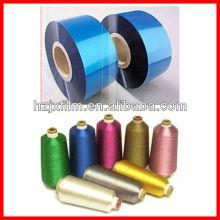 12/16/20/25 mirons VM PET / filme arco íris para fio metálico