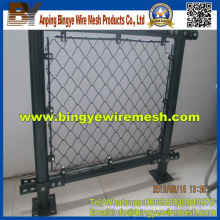 PVC Chain Link Fence (diamond wire mesh)