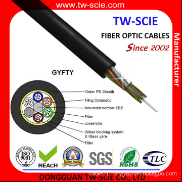 GYFTY Non-Metalic Single Mode Optic Fiber Cable