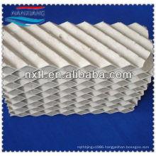 Ceramic structured corrugated packing (450X)