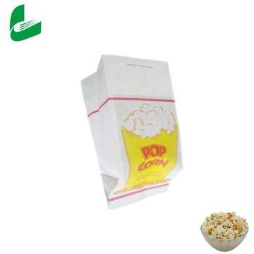 emballage blanc brun impression sacs en papier pop-corn