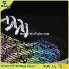 Tissu en cuir synthétique coloré pour les chaussures