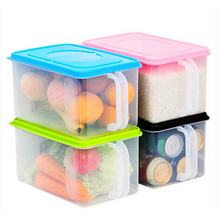 High Quality Double Wall Plastic Jar with Handle