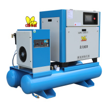 22 KW 30 HP Screw Air Compressor for Laser Cutting Machine with Air Tank and Air Dryer from China Professional Manufacturer